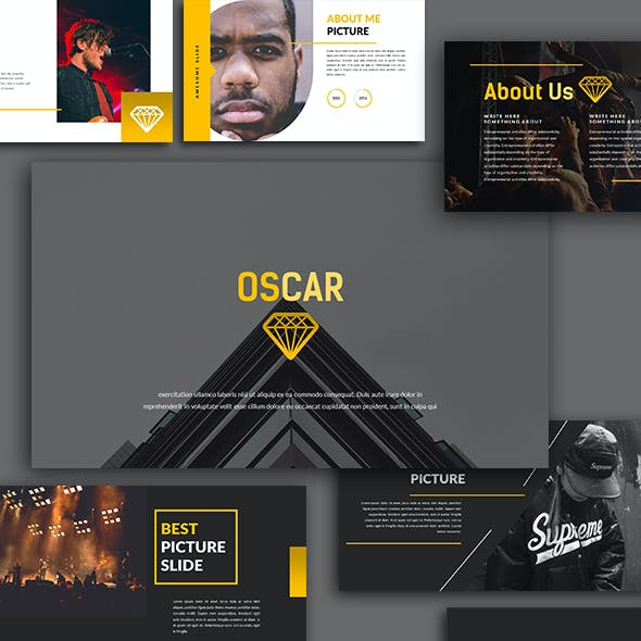 Oscars Design and Theme Graphics, Designs & Templates