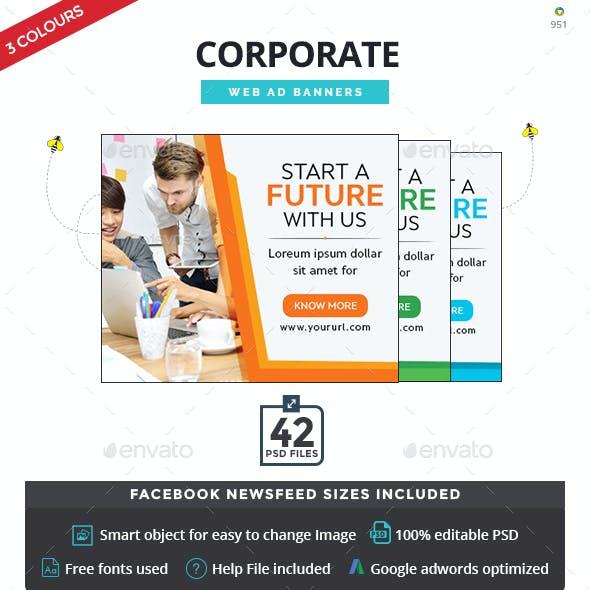 Corporate Banner Set
