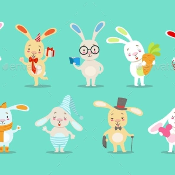 Bunny Cartoon Characters