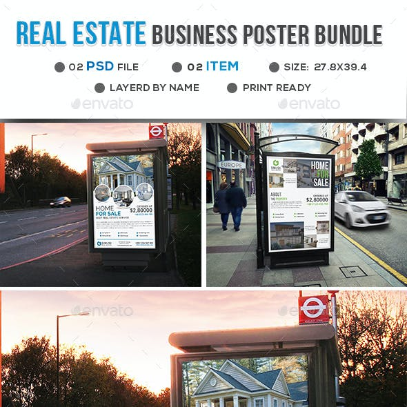 Real Estate Poster Bundle