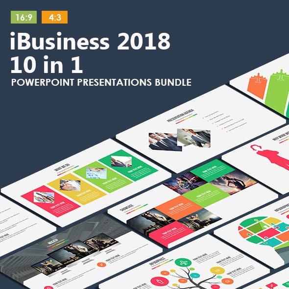 iBusiness Bundle - 10 Powerpoint Presentations