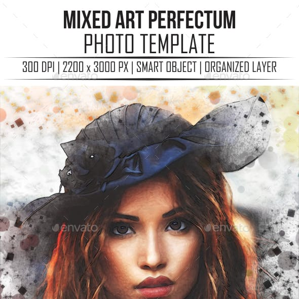 Mixed Art Perfectum Photo Templates