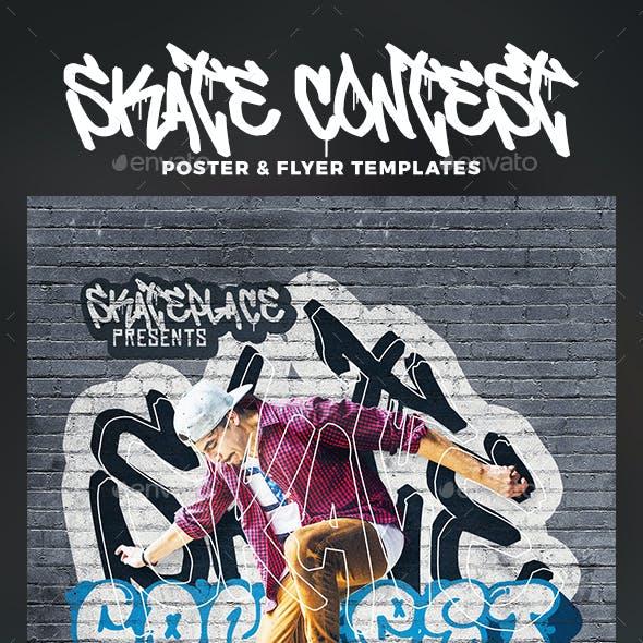 Skate Contest Flyer & Poster
