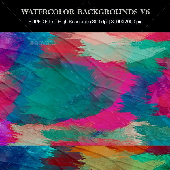 Watercolor Backgrounds v6