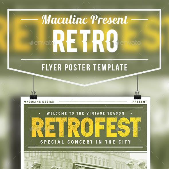 Retro Flyer/Poster Vol. 4