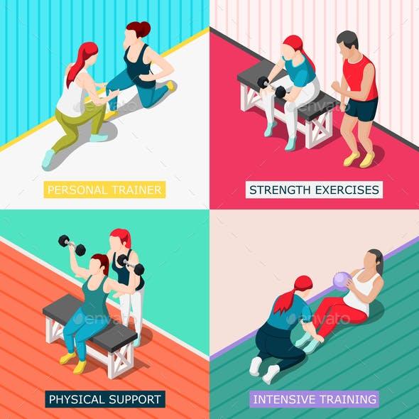 Personal Sport Trainer 2x2 Design Concept