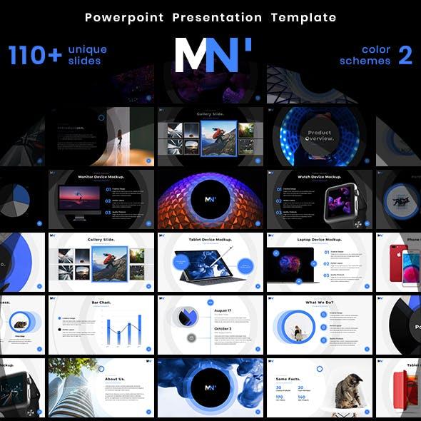 Marketin' - PowerPoint Presentation Template