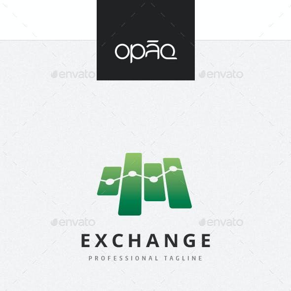 Financial Exchange Symbol Logo