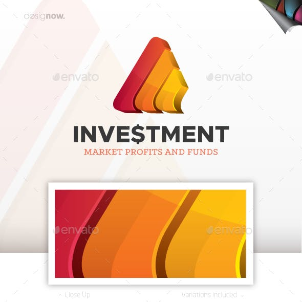 Investment Logo 3D