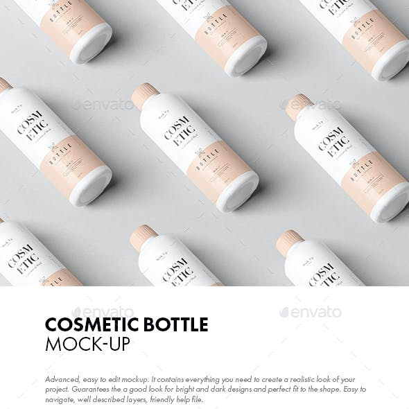 Cosmetic Bottle Mock-up