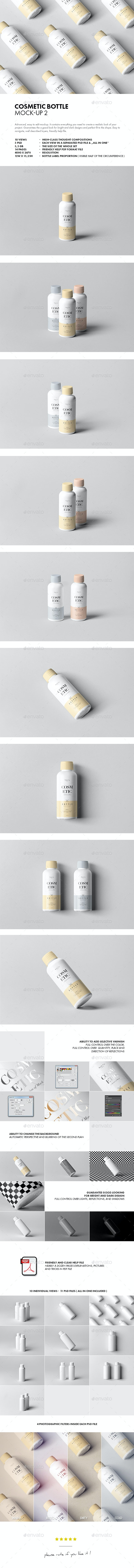 Cosmetic Bottle Mock-up 2 - Beauty Packaging