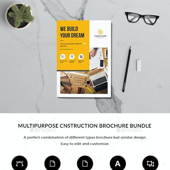 Construction Brochure Bundle