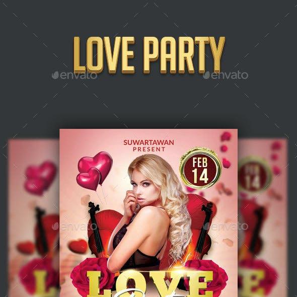 Love Valentine Party