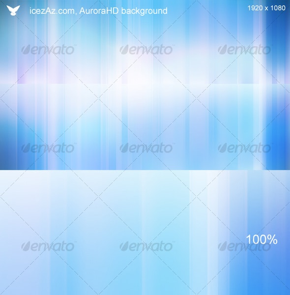 Aurora HD background - Abstract Backgrounds