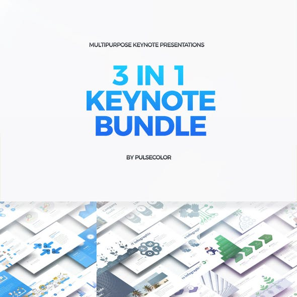 BUNDLE 3in1 - Multipurpose Keynote Presentations