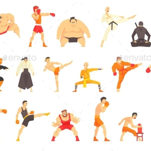 Martial Arts and Fighters