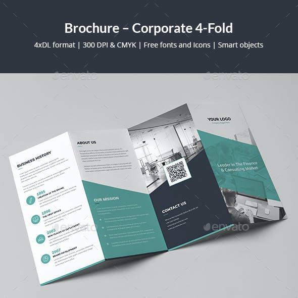 Brochure – Corporate 4-Fold
