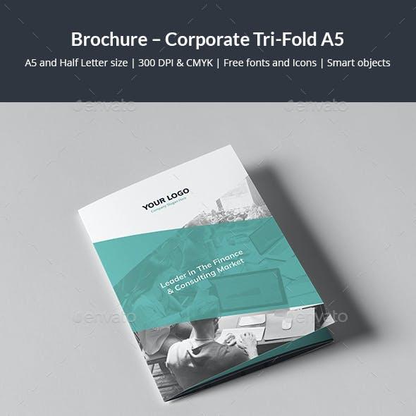 Brochure – Corporate Tri-Fold A5