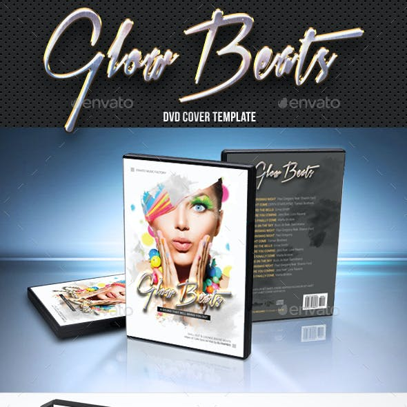 Glow Beats DVD Cover Template