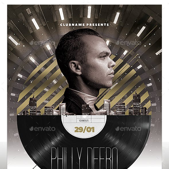 VIP DJ Flyer