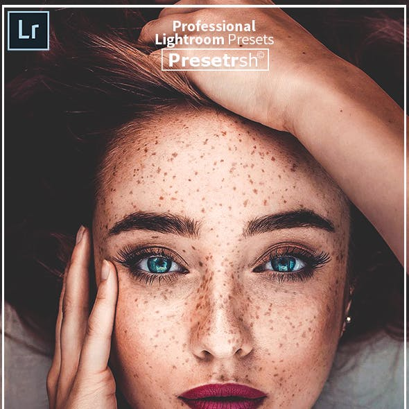 25 Portraits Collection Lightroom Presets