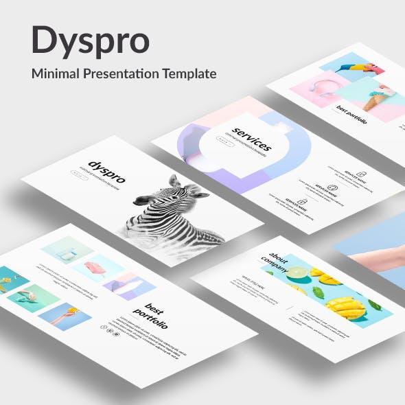 Dyspro - Minimal Google Slide Template