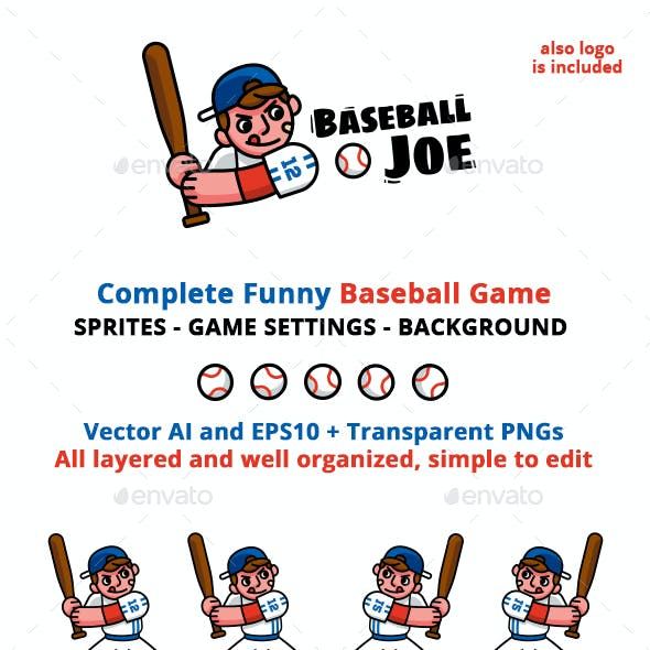 Baseball Joe Game Asset