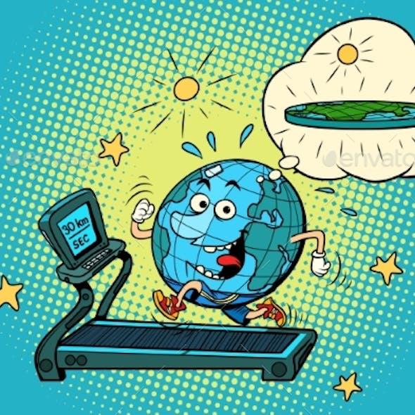 Earth on the Treadmill Dream to Lose