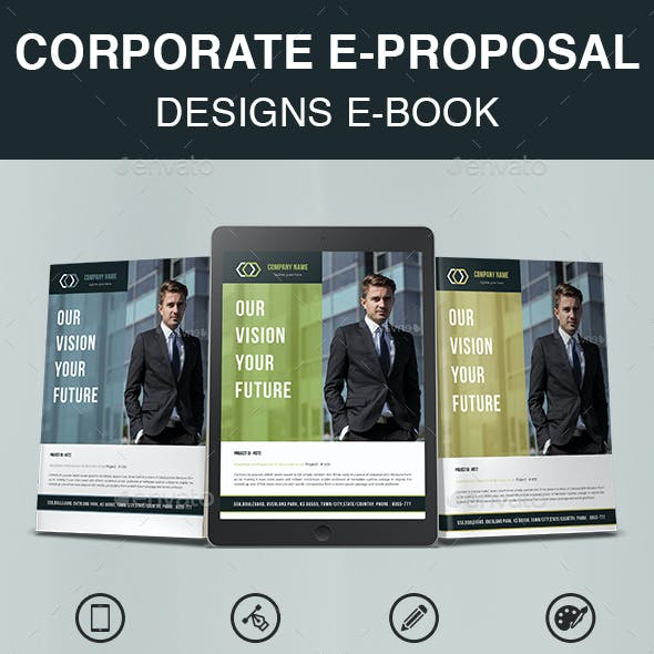 Corporate E-Proposal Designs E-Book