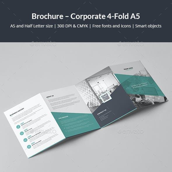 Brochure – Corporate 4-Fold A5