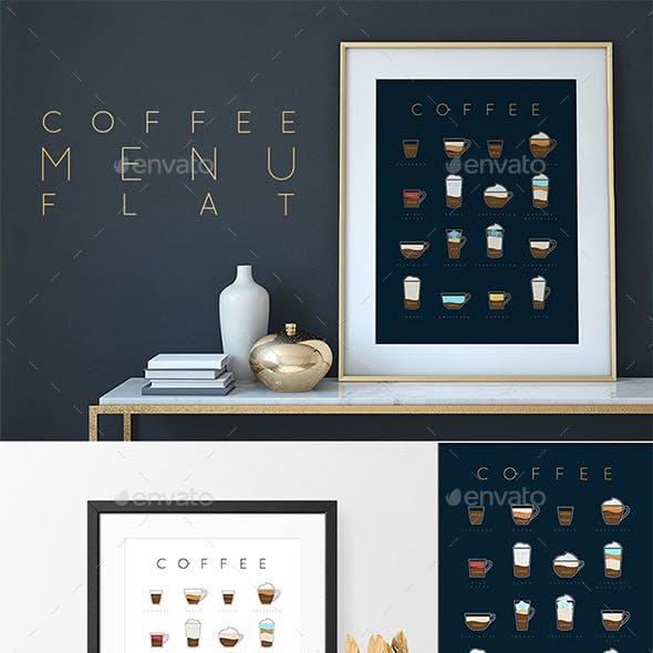 Coffee Menu Flаt