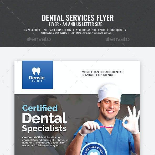 Dental Care Clinic Flyer