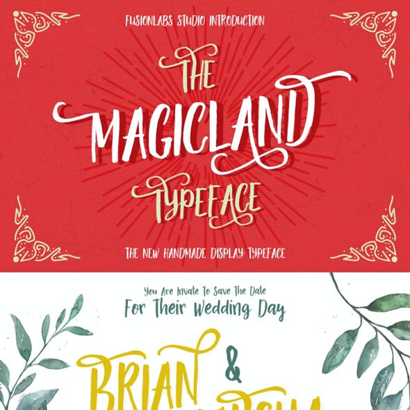 The Magicland Typeface