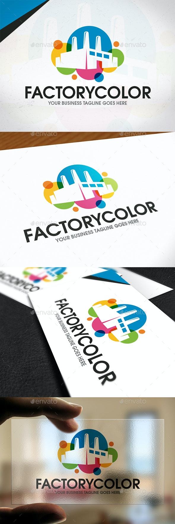 Creative Industry Logo Template