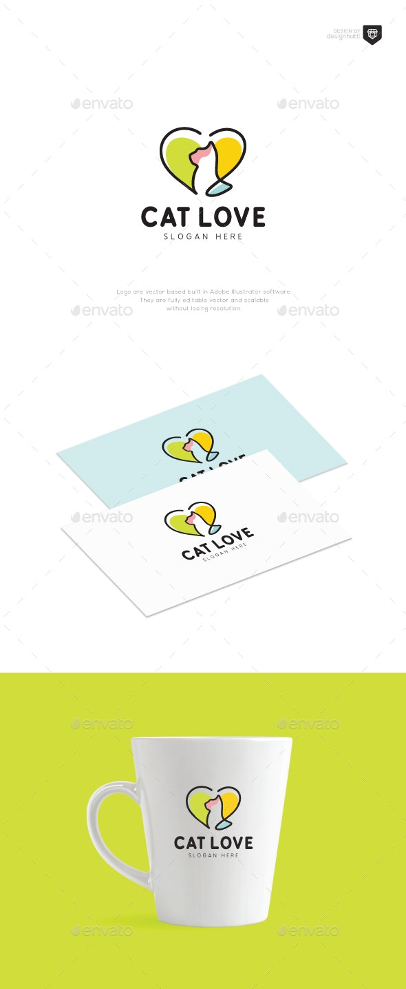 Cat Love Logo