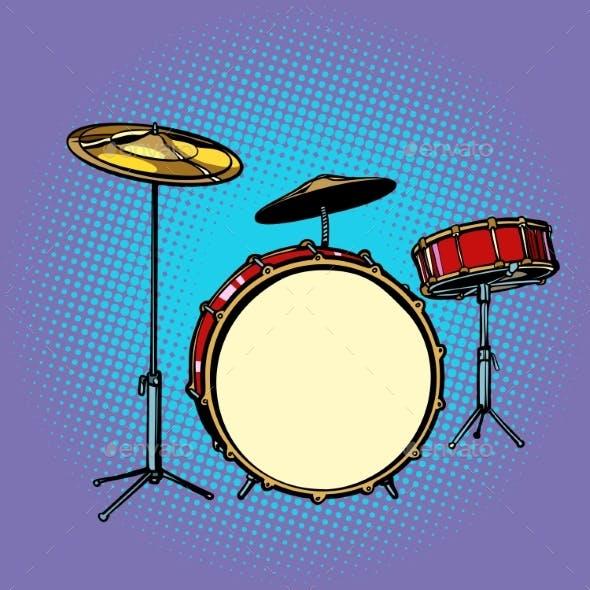 Drum Set Musical Instrument