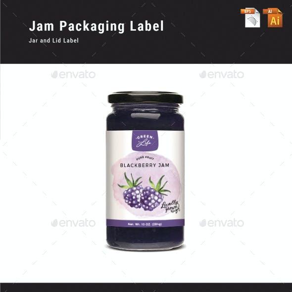 Jam Packaging Label