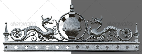 Iron Dragons - Miscellaneous Isolated Objects