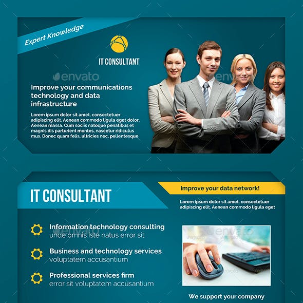 Business Flyer: IT Consultant
