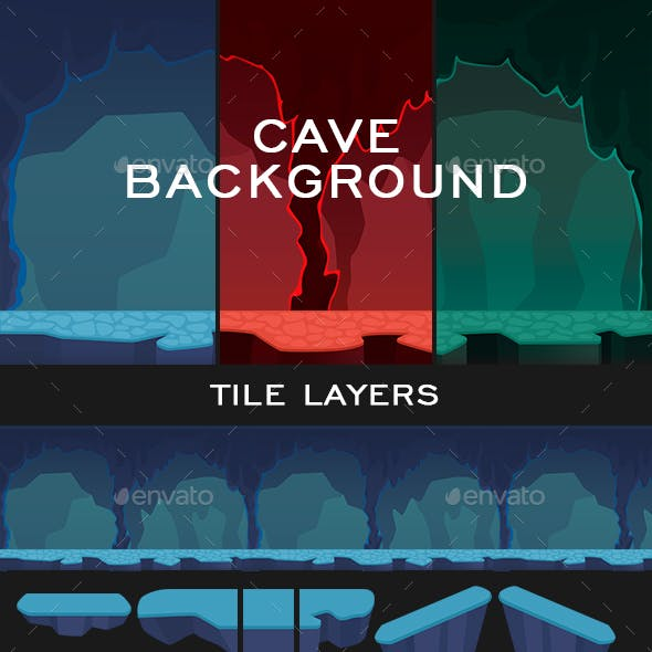 Cave Background Game