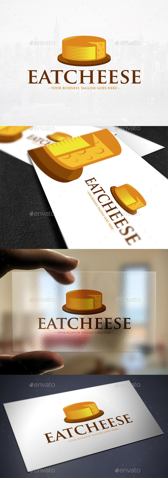 Cheese Logo Template