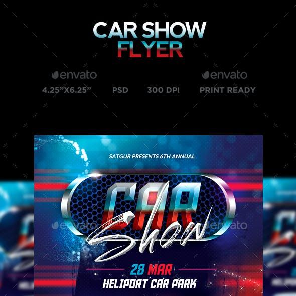 Car Show Flyer - Street