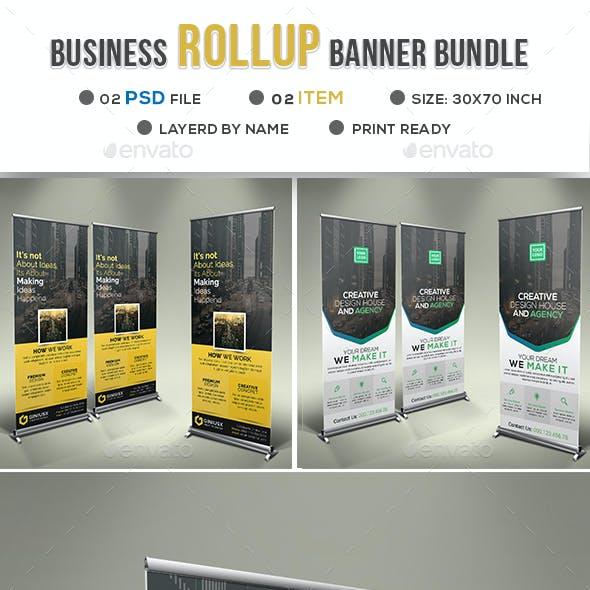 Business Roll Up Banner Bundle