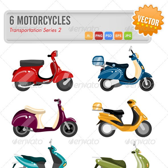 6 Motorcycles