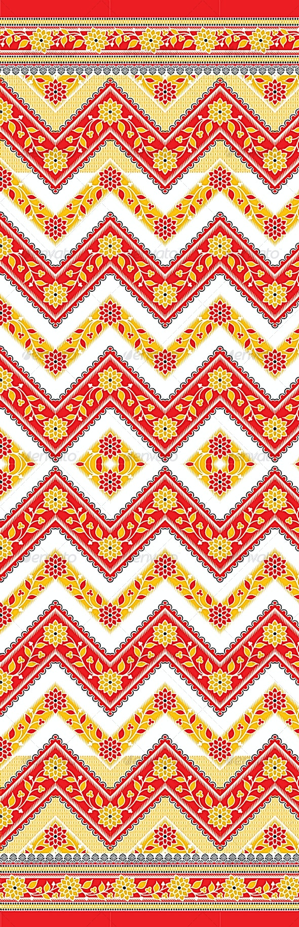 Seamless Textile Design - Backgrounds Decorative