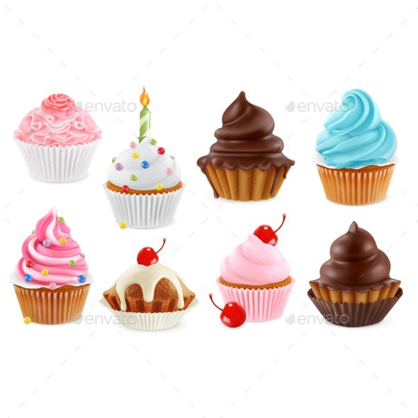 Cupcake and Fairy Cake