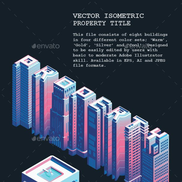 Vector Isometric Property Title