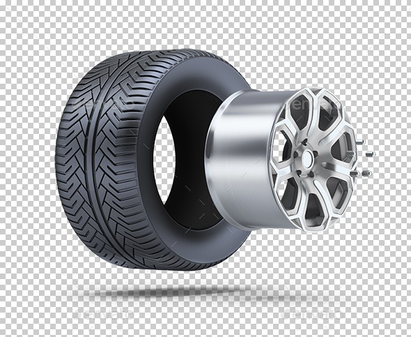 Wheel Parts - Objects 3D Renders