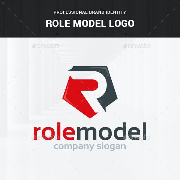 Role Model - Letter R Logo