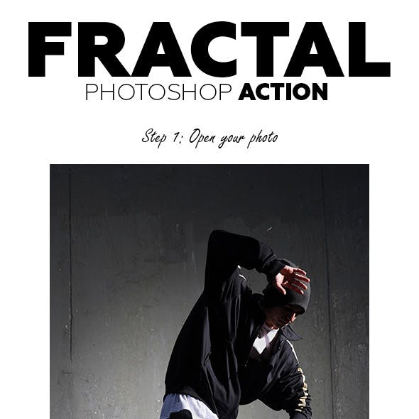 Fractal Photoshop Action
